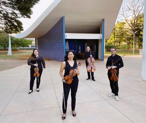 Drive-In CCBB Palco Novo: Quarteto Gardner e Orquestra de Câmara de Brasília são as atrações deste final de semana