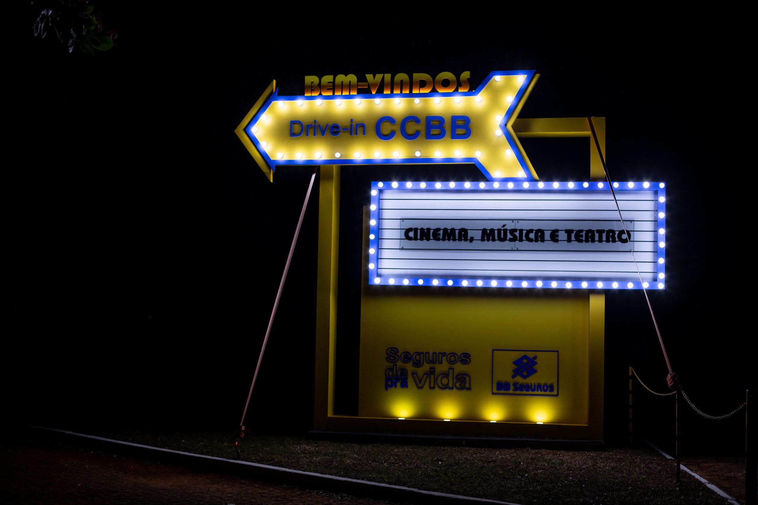Centro Cultural Banco do Brasil divulga programação completa do Drive-In CCBB Palco Novo