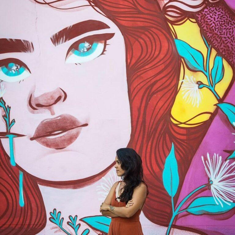 Grafite do DF feito por ELAS
