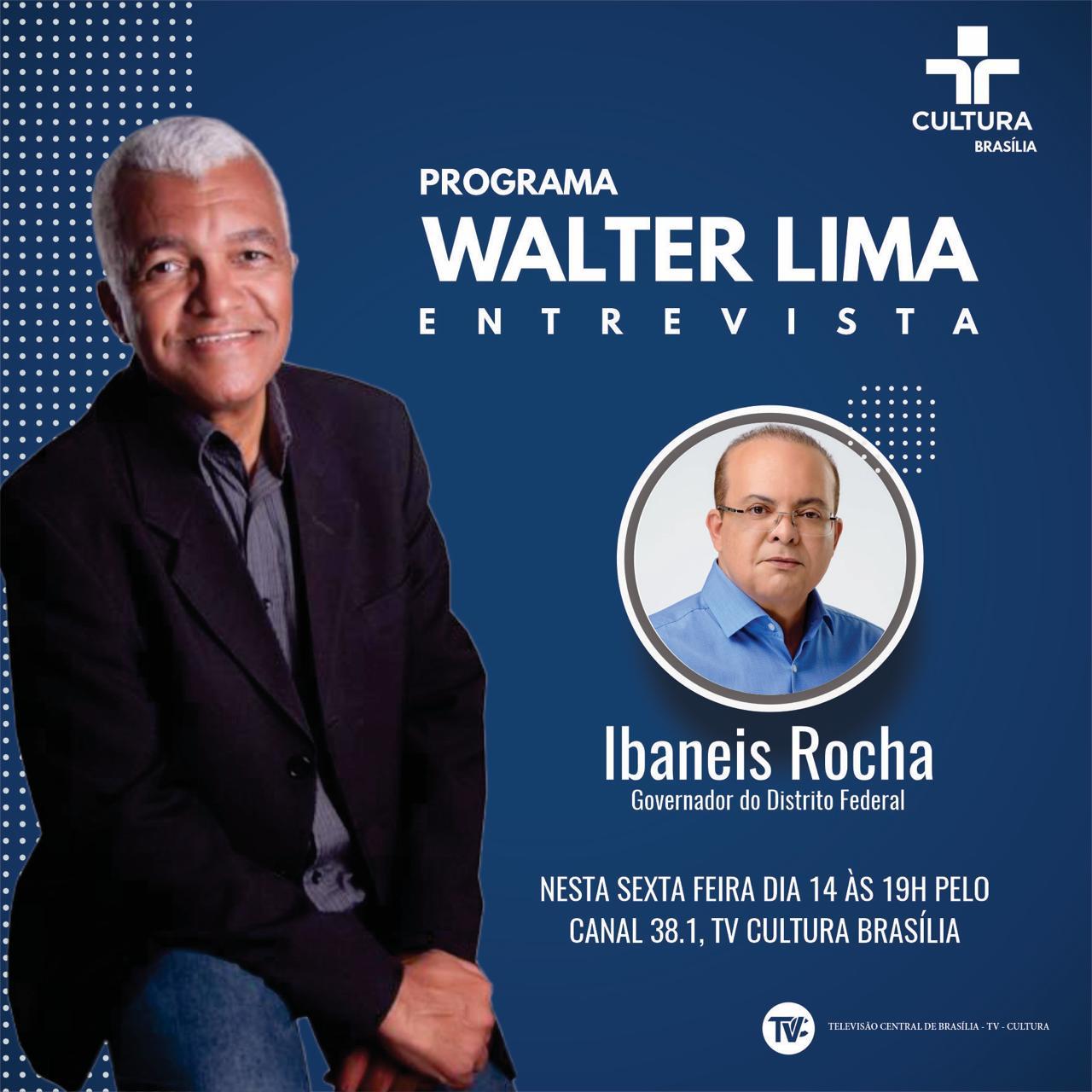 No ar: Walter Lima – Entrevista pela TV Cultura Brasília