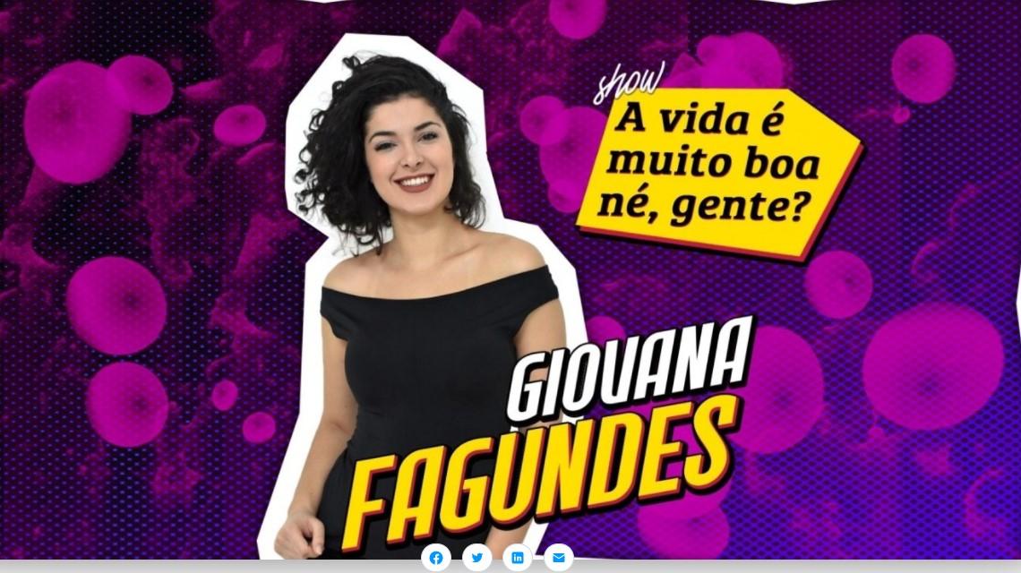 GIOVANA FAGUNDES – Show Solo